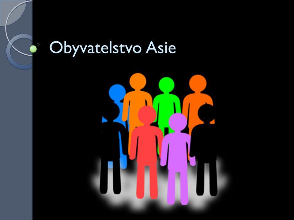 Obyvatelstvo Asie