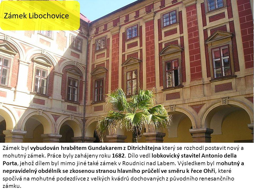 Zámek byl vybudován hrabětem Gundakarem z Ditrichštejna který se rozhodl postavit nový a mohutný zámek.