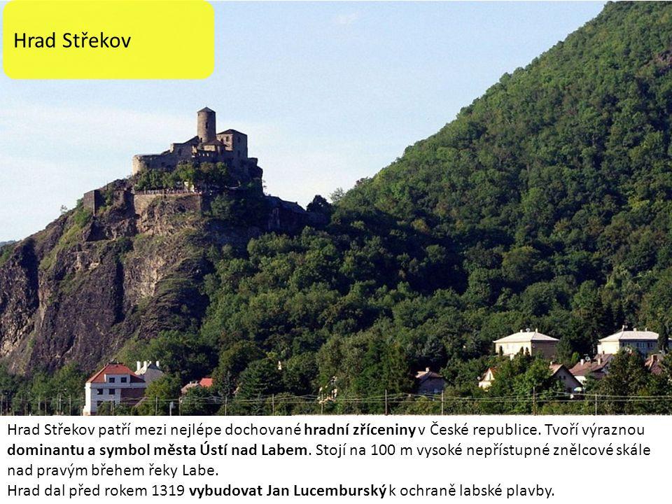 Hrad Střekov Hrad Střekov patří mezi nejlépe dochované hradní zříceniny v České republice.