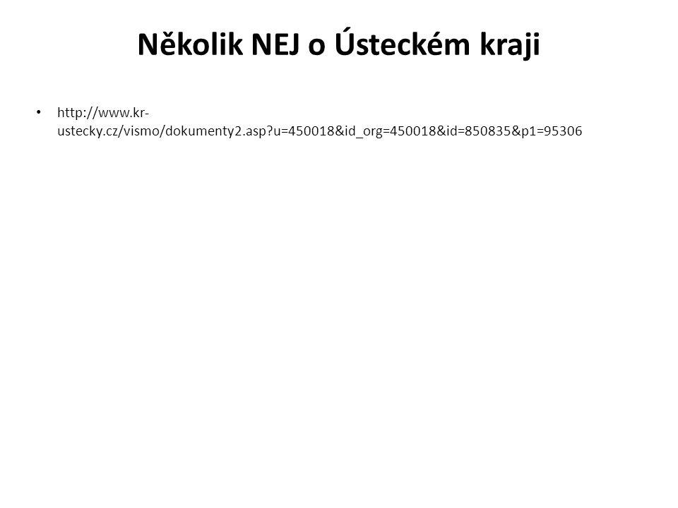Několik NEJ o Ústeckém kraji http://www.kr- ustecky.cz/vismo/dokumenty2.asp u=450018&id_org=450018&id=850835&p1=95306