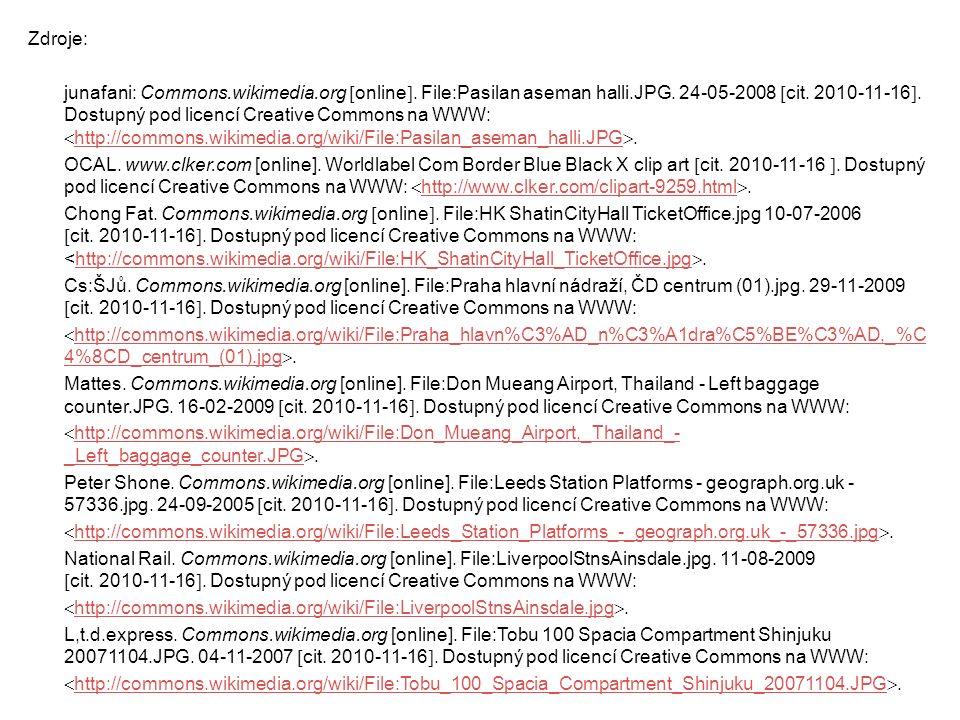 Zdroje: junafani: Commons.wikimedia.org  online . File:Pasilan aseman halli.JPG. 24-05-2008  cit. 2010-11-16 . Dostupný pod licencí Creative Commo