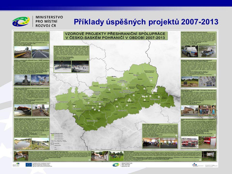 Příklady úspěšných projektů 2007-2013