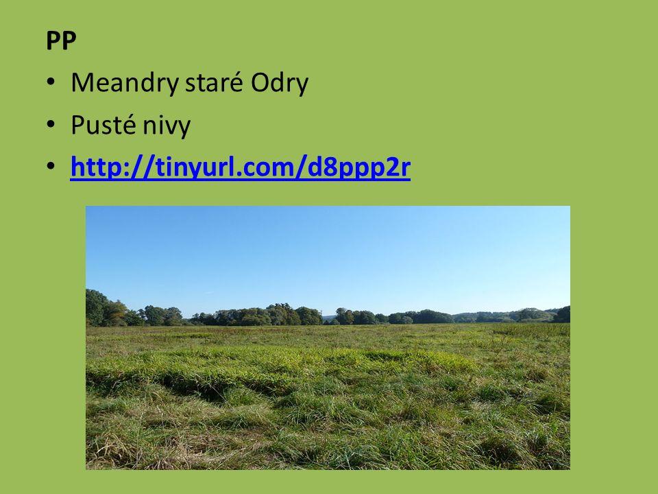 PP Meandry staré Odry Pusté nivy http://tinyurl.com/d8ppp2r
