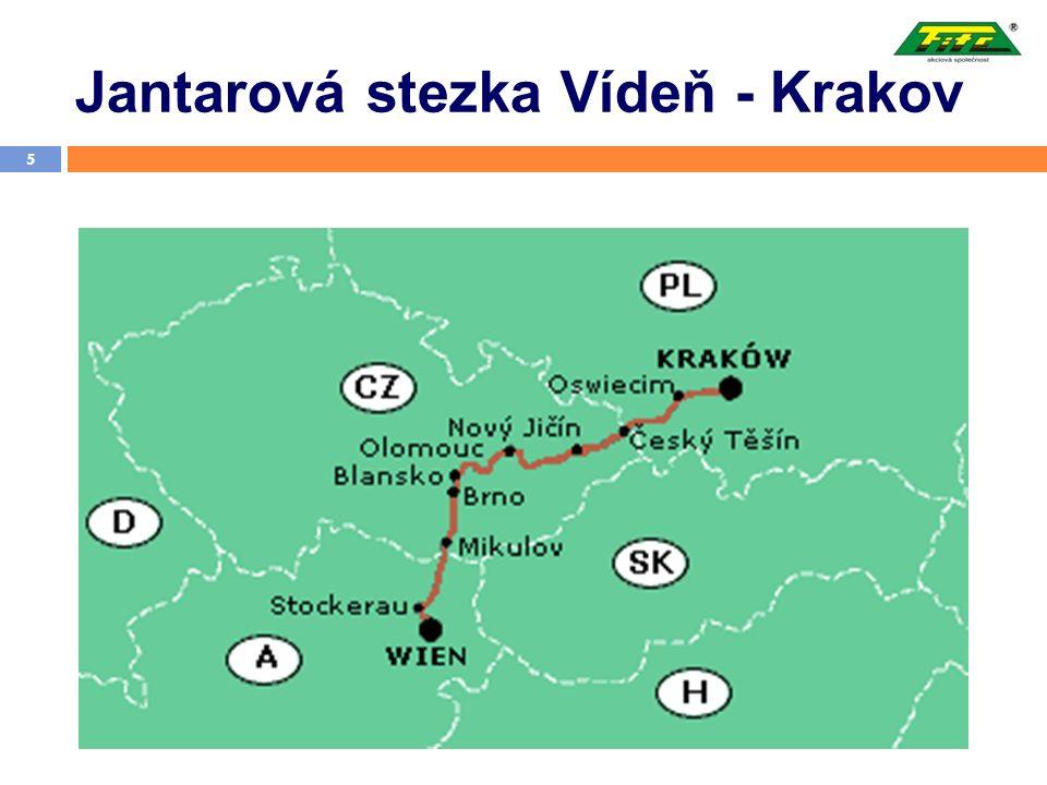 Jantarová stezka Vídeň - Krakov 5