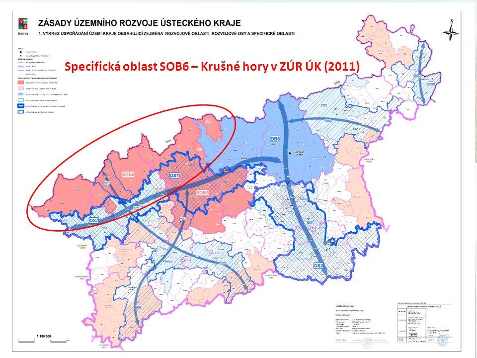 Specifická oblast SOB6 – Krušné hory v ZÚR ÚK (2011)
