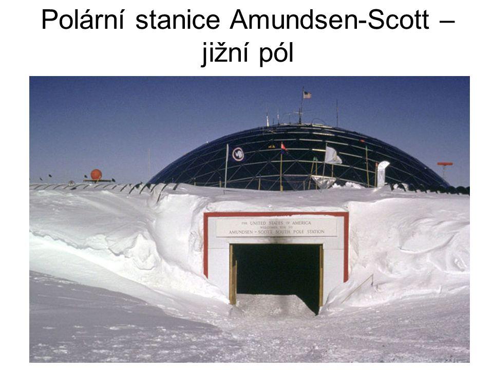 Polární stanice Amundsen-Scott – jižní pól