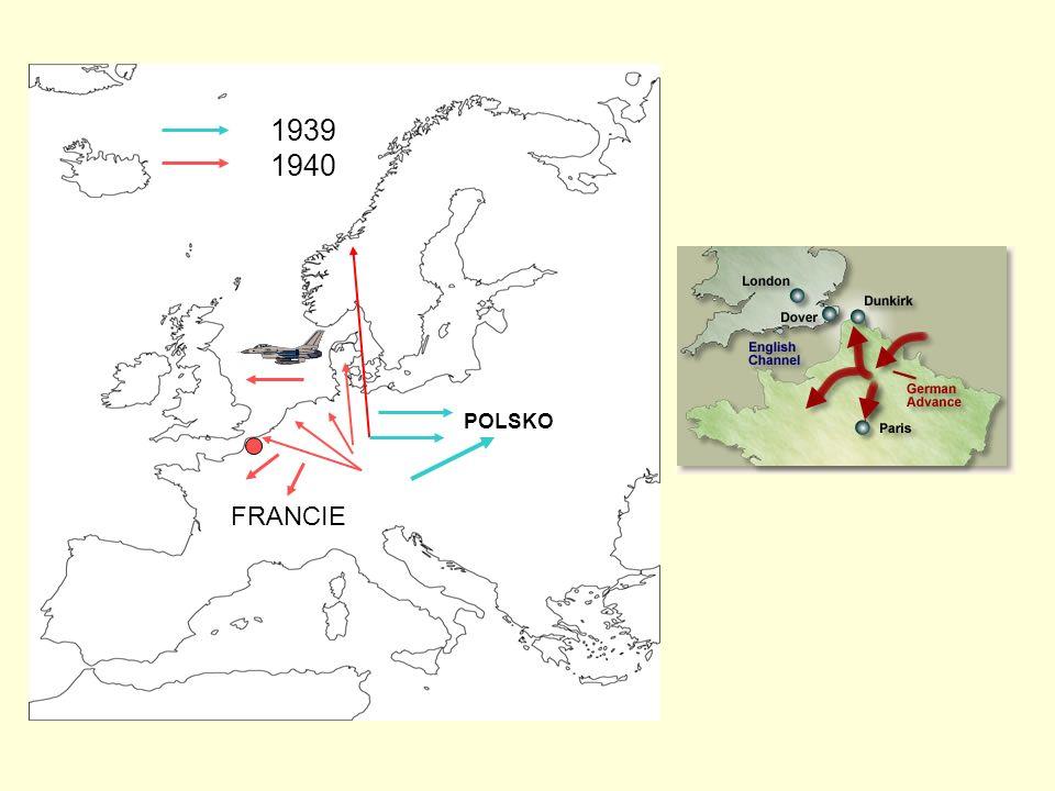 POLSKO FRANCIE 1939 1940