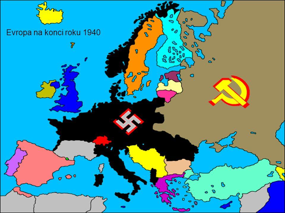 Evropa na konci roku 1940
