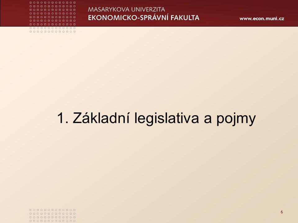 www.econ.muni.cz 47 HEJTMAN Krajský úřad Bezpečnostní rada kraje Krizový štáb kraje HZS kraje Policie ČR Zdravot.