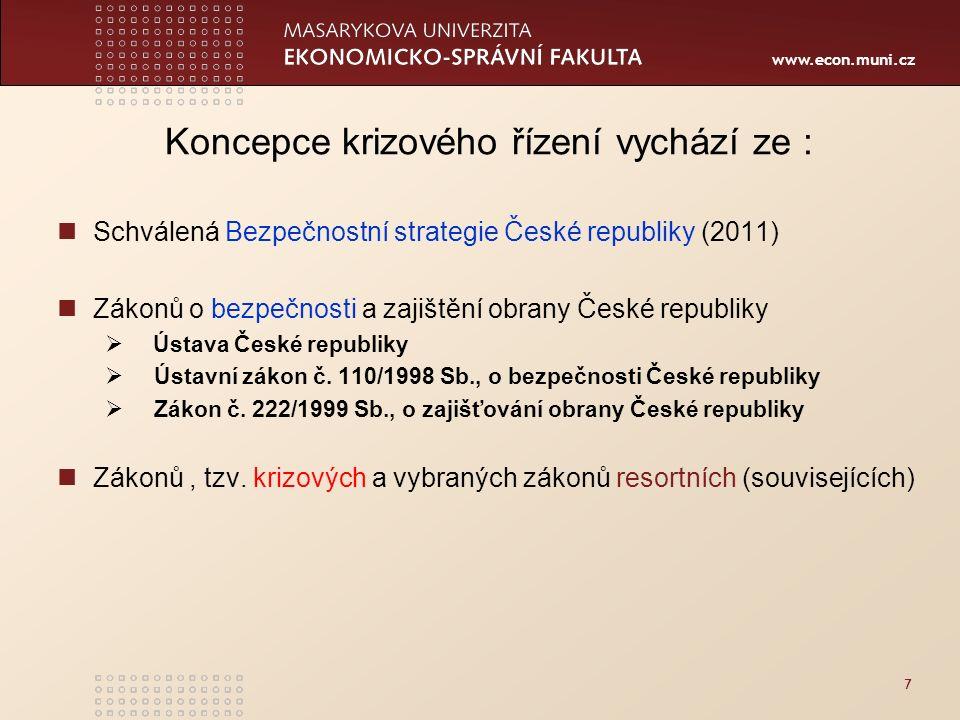 www.econ.muni.cz 118 Děkuji za pozornost!