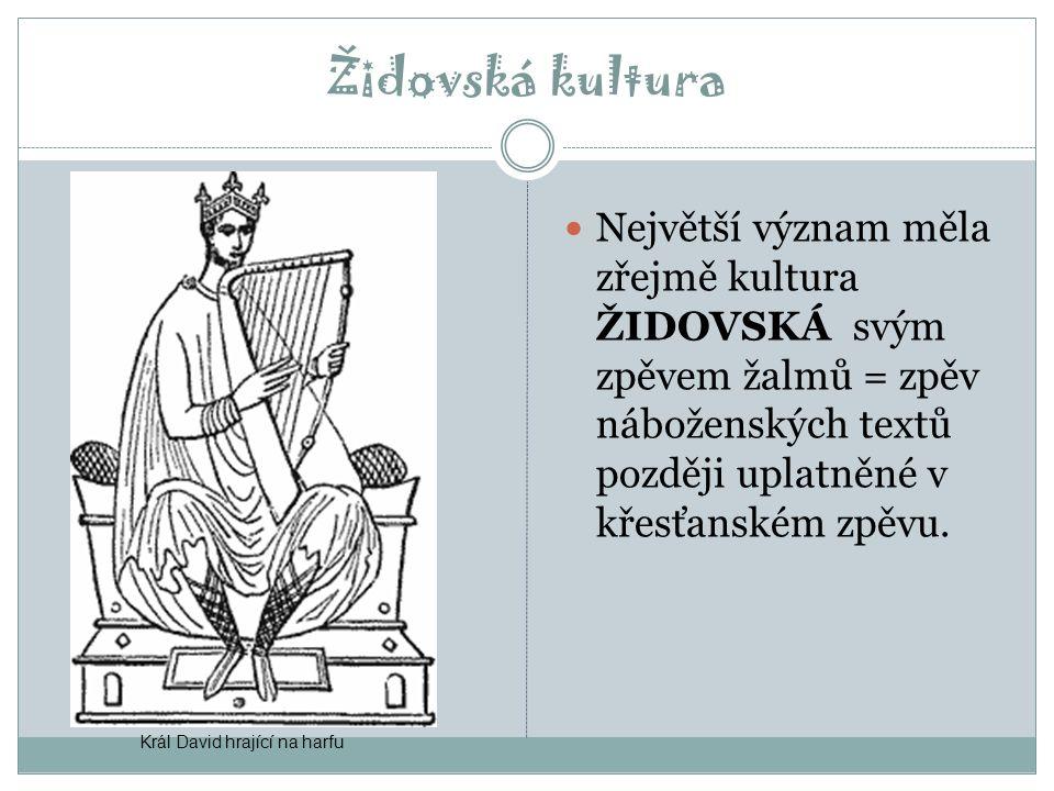 Hudební nástroje dechové: flétny (tigtigi) a hoboje (abub) strunné (= chordofony): lyry (algar) a malé horizontální harfy (zagsal) – hrobky v Uru (2500 př.Kr.) bicí: velký buben (balag), kotlíky (liris a ub), kastaněty a sistra, později cymbalon i zvonky  primitivní loutna (pantur)  Asyřané (2000 př.Kr.) zdokonalili harfy.