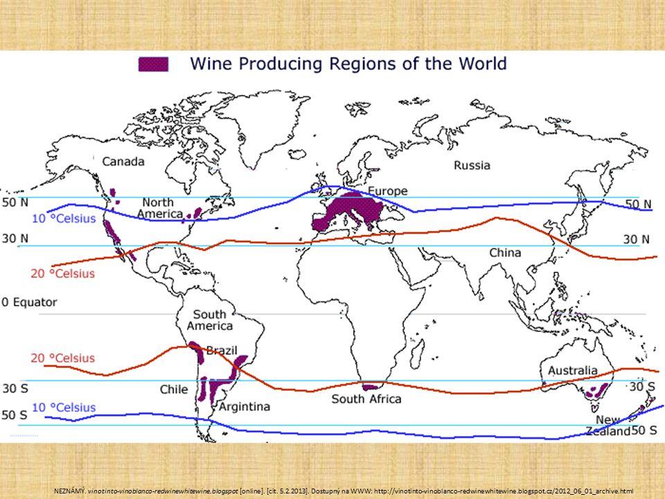  Ostrov Santorini - větrné podnebí ztížená produkci, ale víno jedinečné, Silné větr- stáčí do tvaru ptačích hnízd, roste těsně při zemi a výnosy bývají velmi malé  Ostrovy Samos a Limnos - těžká sladká muškátová vína, vyprodaná na léta dopředu  Ostrov Rhodos - nejlepší podmínky pro pěstování vína.