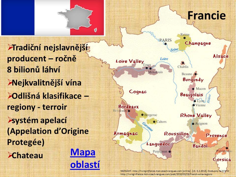 Francie Mapa oblastí NEZNÁMÝ.http://livinginfrance.mon-coach-langues.com [online].