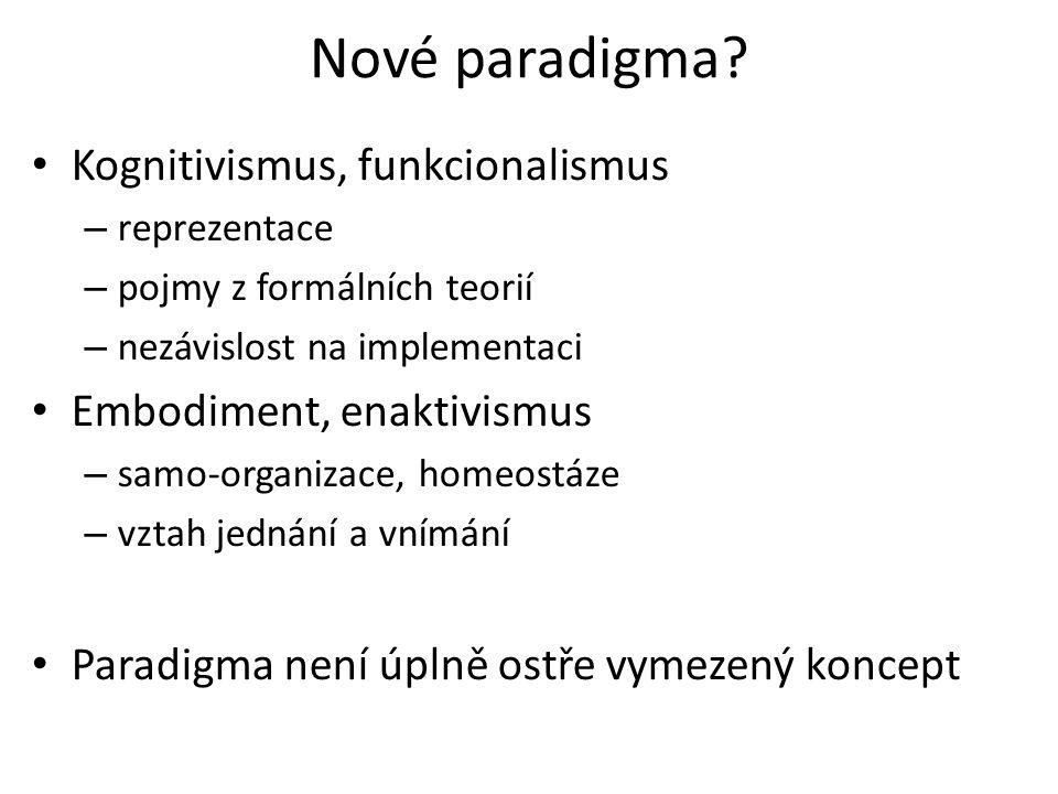 Nové paradigma.