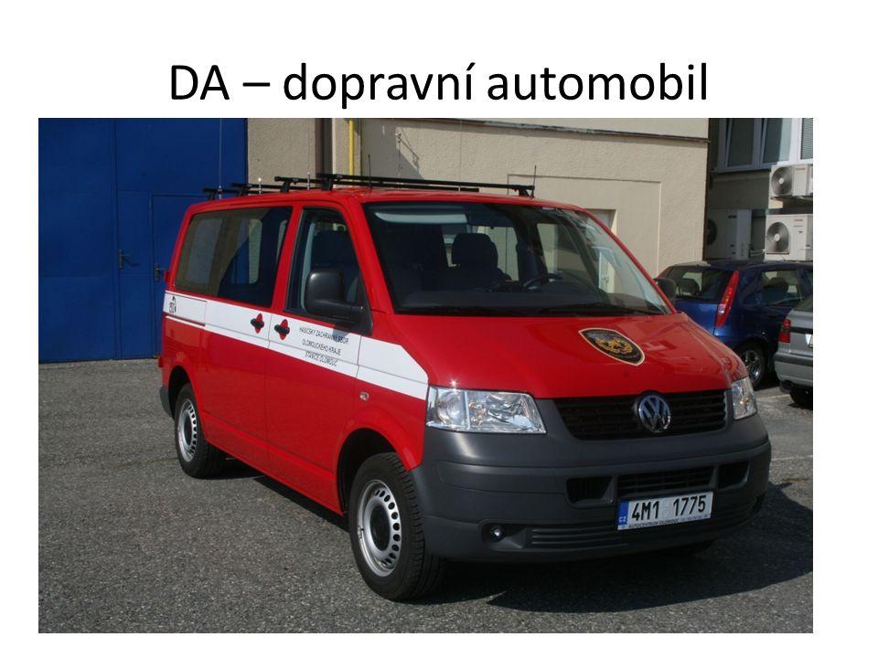 DA – dopravní automobil