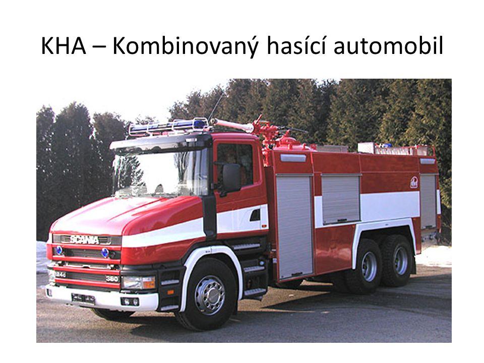 KHA – Kombinovaný hasící automobil