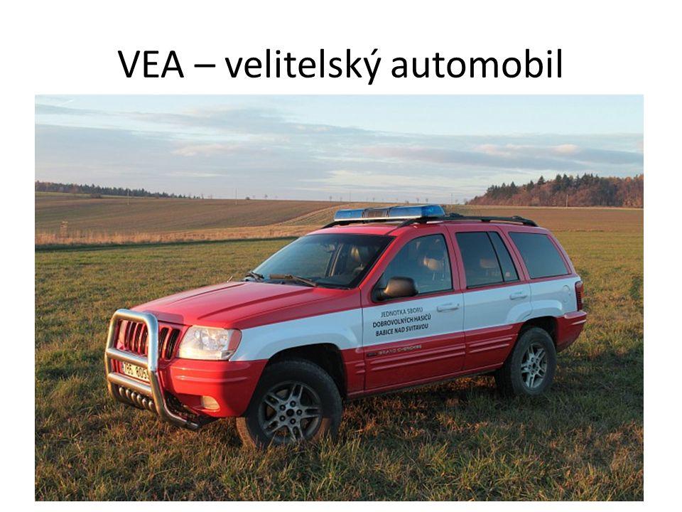 VEA – velitelský automobil