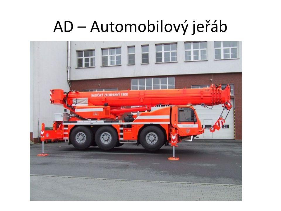 AD – Automobilový jeřáb