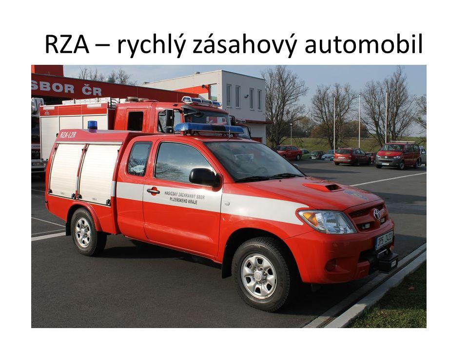 RZA – rychlý zásahový automobil