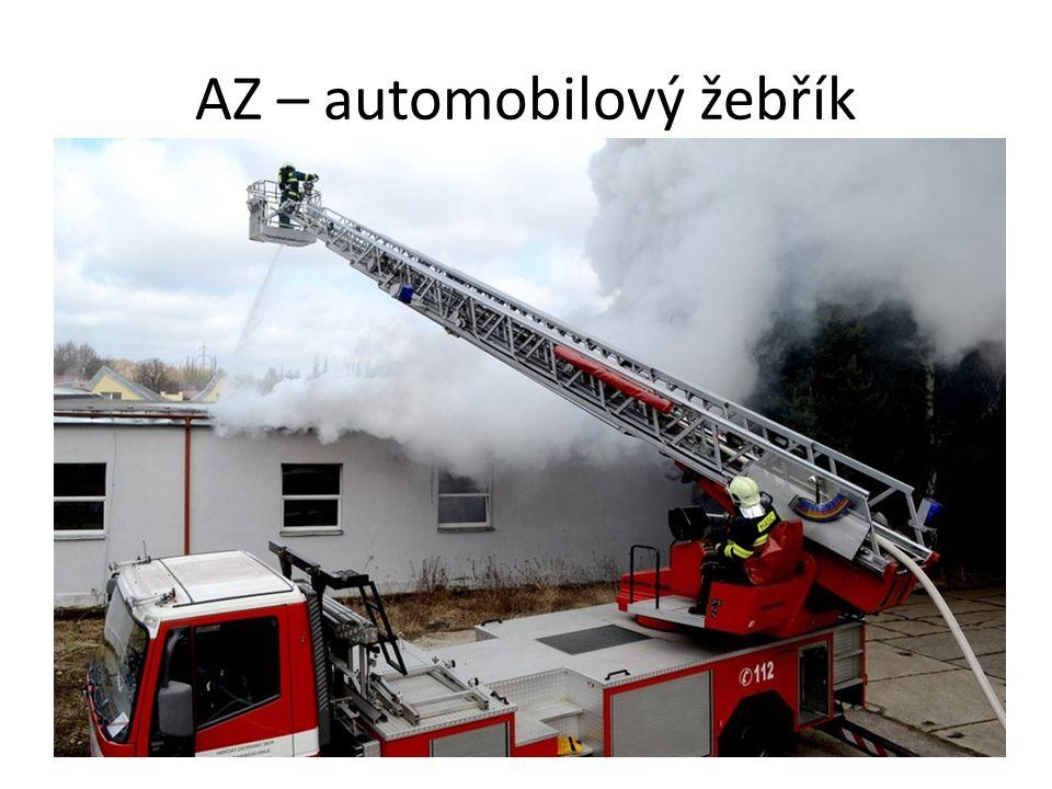 AZ – automobilový žebřík
