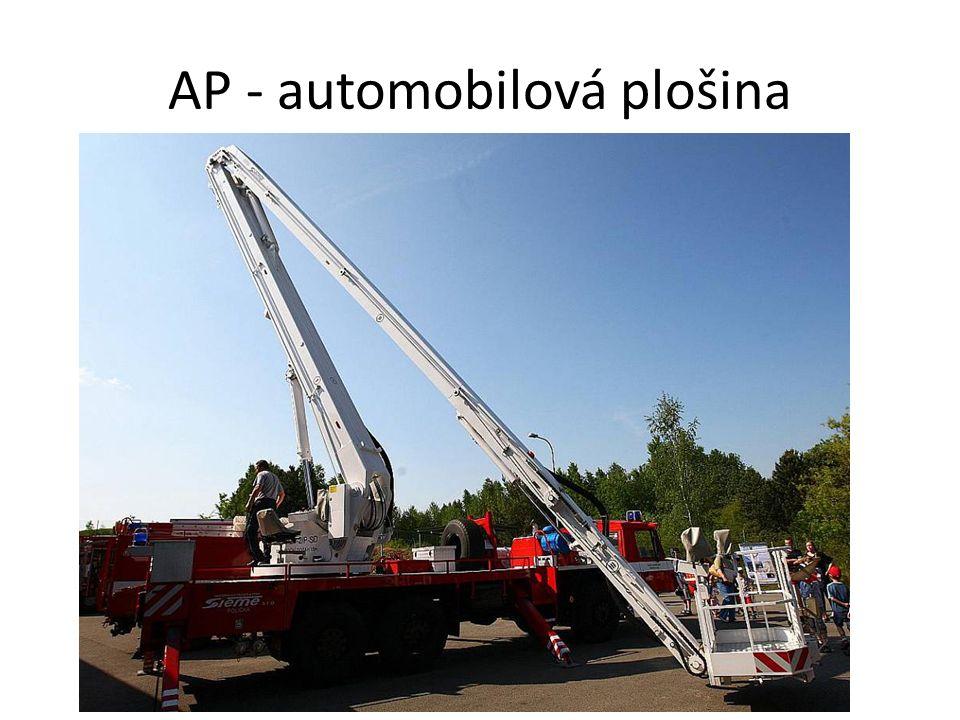 AP - automobilová plošina