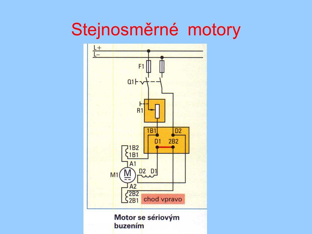 Stejnosměrné motory