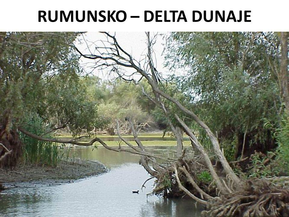 RUMUNSKO – DELTA DUNAJE