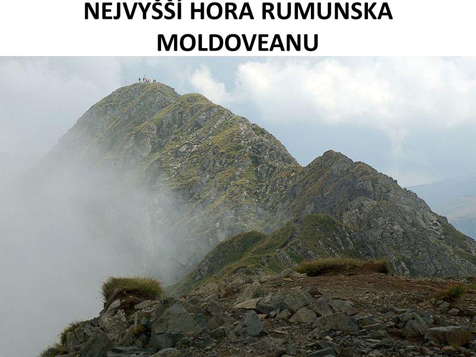 NEJVYŠŠÍ HORA RUMUNSKA MOLDOVEANU