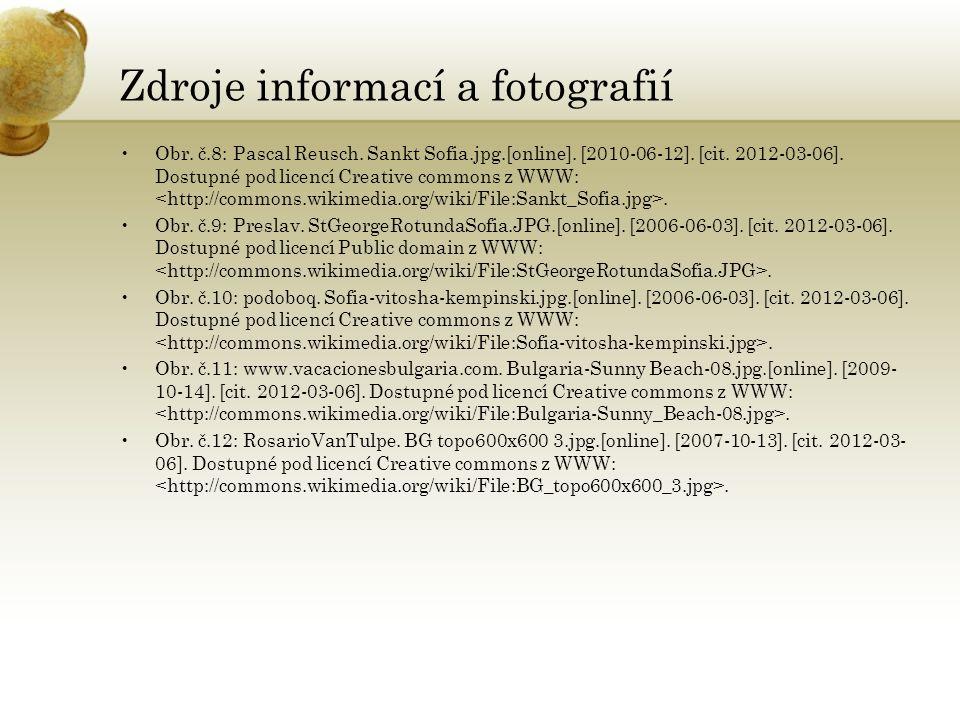 Zdroje informací a fotografií Obr. č.8: Pascal Reusch.