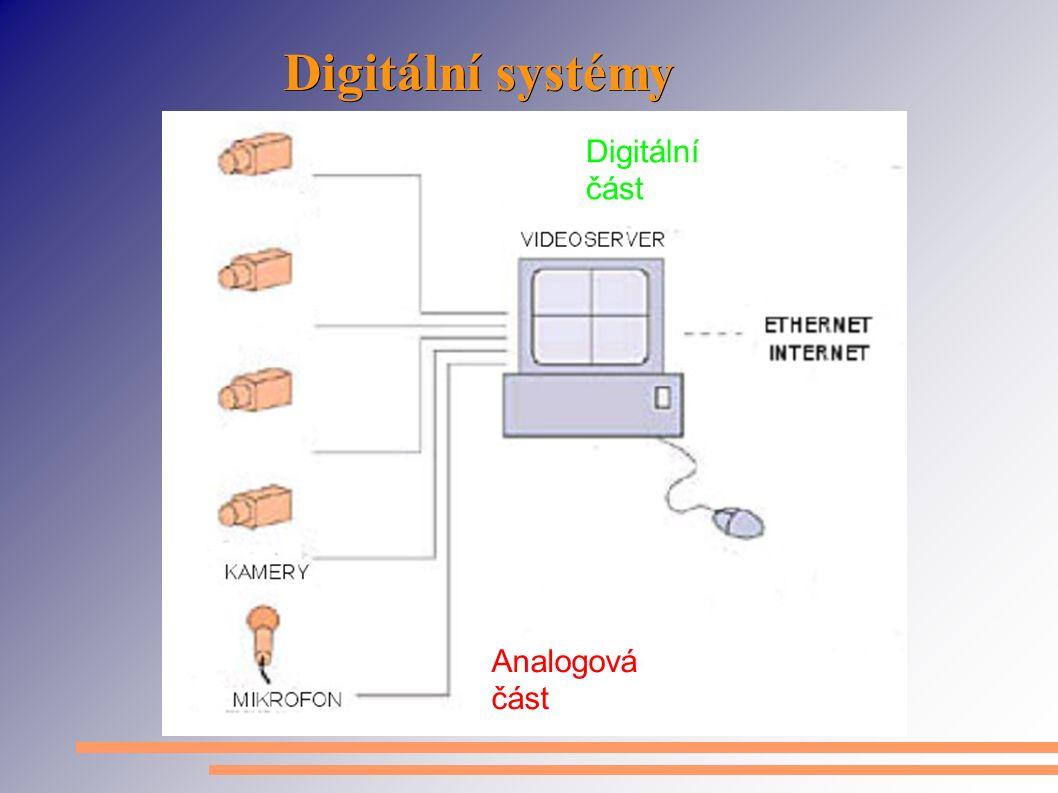 Digitální systémy Analogová část Digitální část