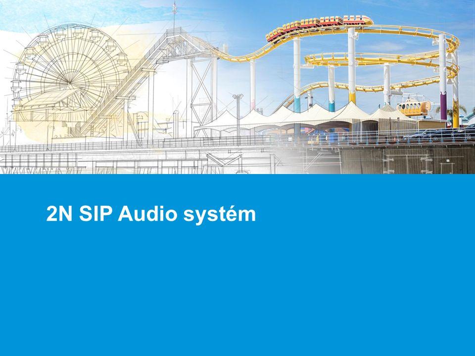 2N SIP Audio systém