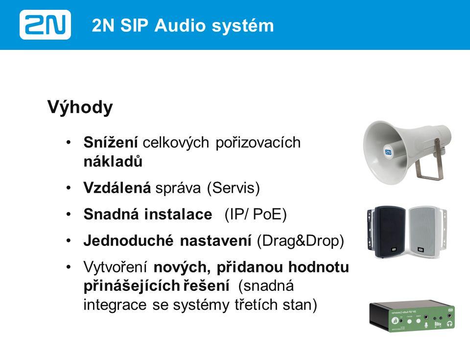 2N SIP Audio koncové body