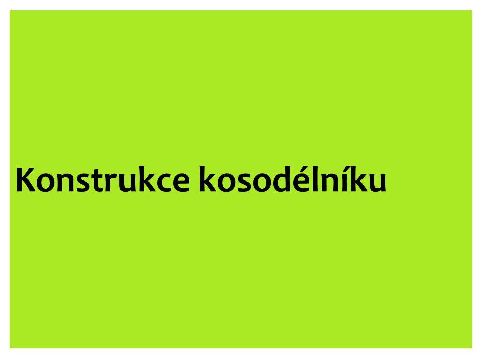 Konstrukce kosodélníku