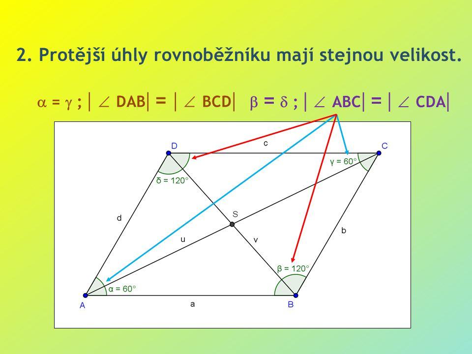  =  ;   ABC  =   CDA   =  ;   DAB  =   BCD  2.