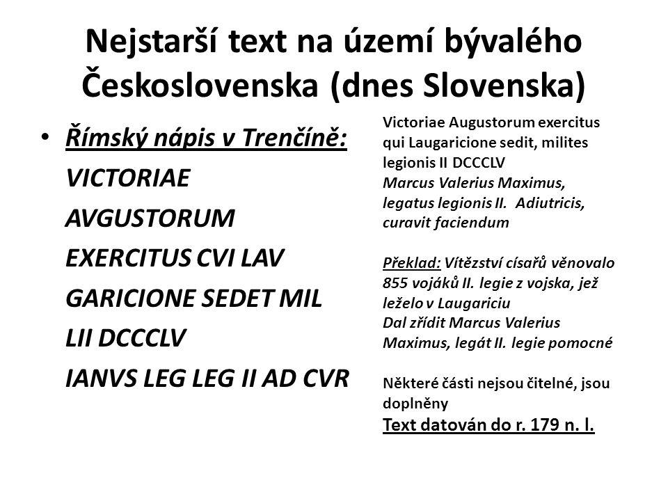 Nápisy na podstavcích soch sv. Jan Nepomucký v Opočně Latinský a český nápis bez chronogramu