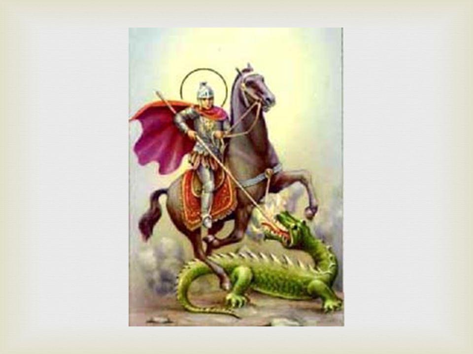   V minulosti patronem rytířů, vojáků, pevností a opevněných měst.