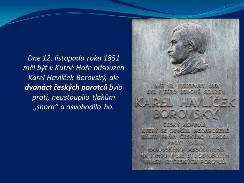  podílel se na organizaci Všeslovanského sjezdu, navštívil Polsko a Chorvatsko, aby přesvědčil tamní spisovatele k účasti na sjezdu  1848 po potlačení revoluce byl poprvé zatčen a několik dnů vězněn, během této doby byl však zvolen poslancem do říšského sněmu a národního výboru = z důvodu získané imunity jej vojenští správci Prahy propustili  zastáncem národní myšlenky, ale o revoluci pochyboval  liberál jako Palacký Jedovnice (první Havlíčkův pomník na Moravě – 1900)