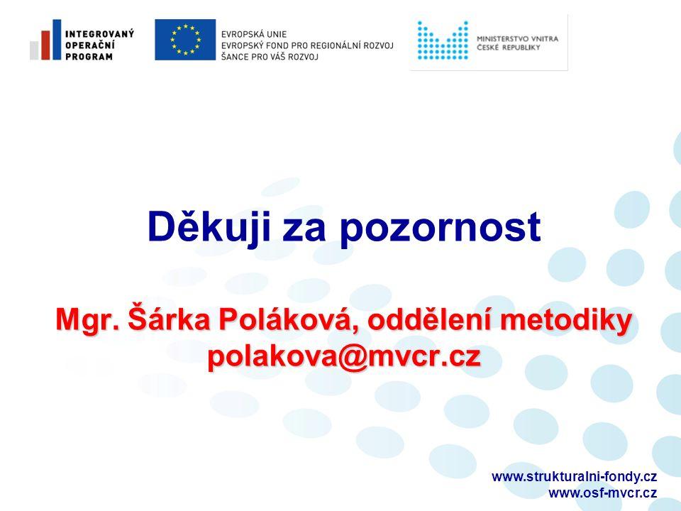 www.strukturalni-fondy.cz www.osf-mvcr.cz Mgr.