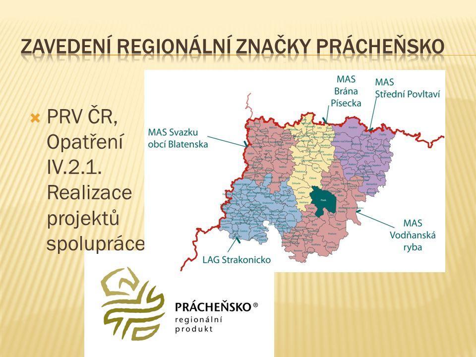 PRV ČR, Opatření IV.2.1. Realizace projektů spolupráce