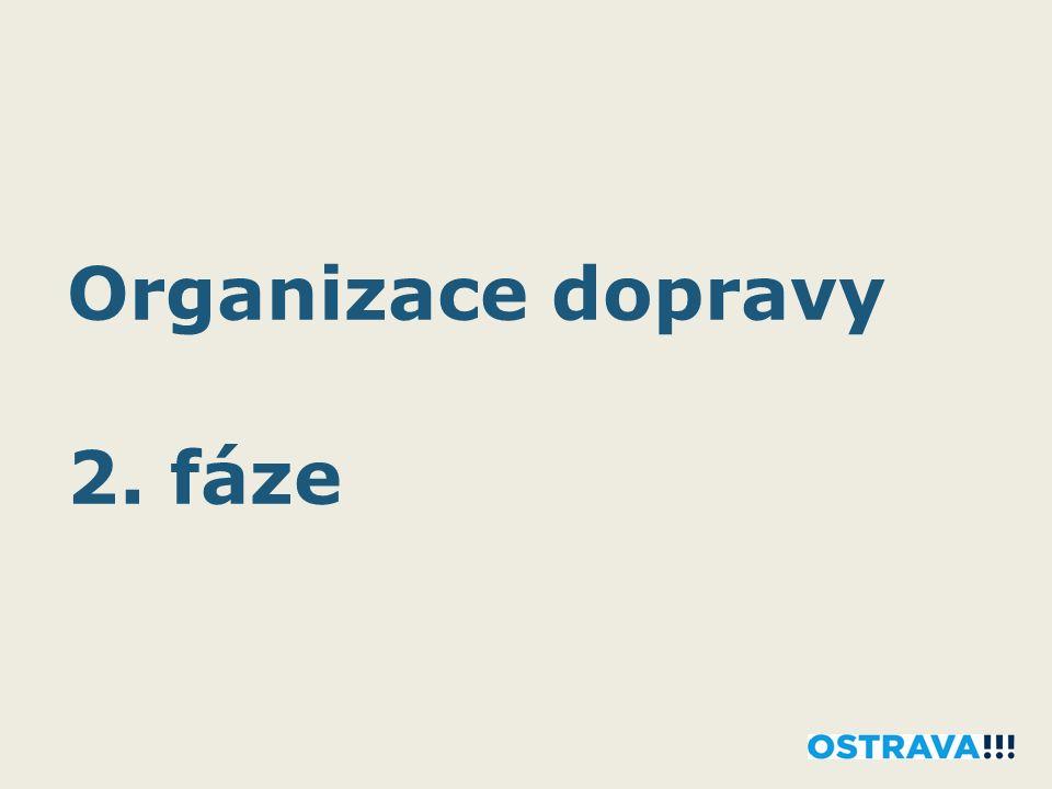 Organizace dopravy 2. fáze