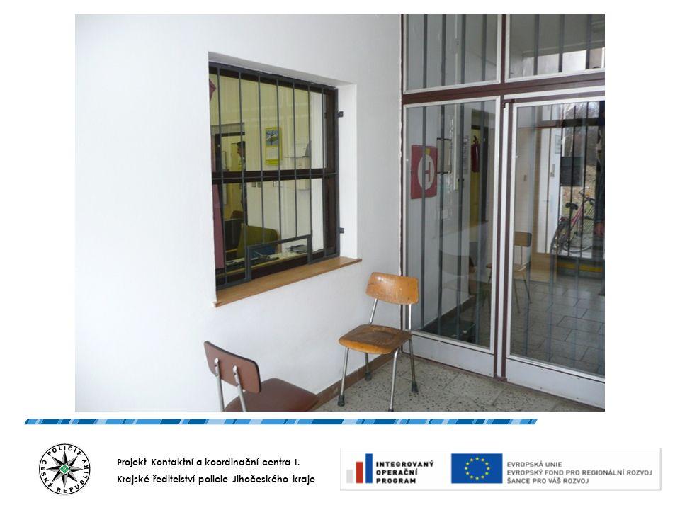 Projekt Kontaktní a koordinační centra I. Krajské ředitelství policie Jihočeského kraje