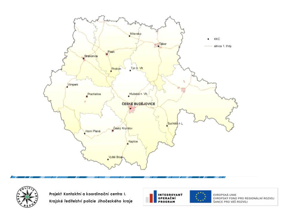 Projekt Kontaktní a koordinační centra I. Krajské ředitelství policie Jihočeského kraje PROMĚNY