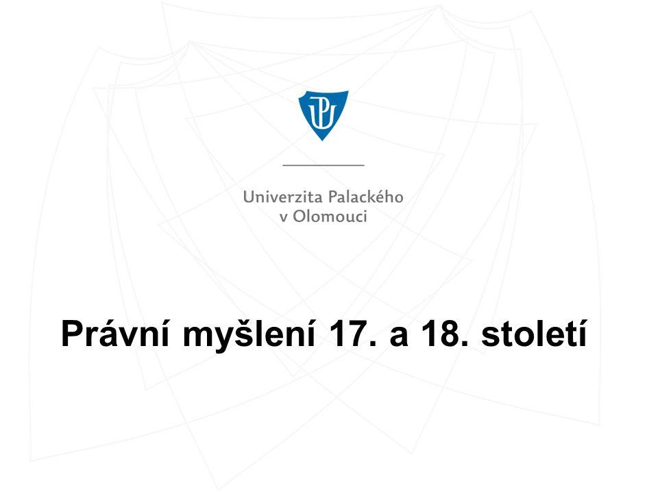 Právní filozofie 17.