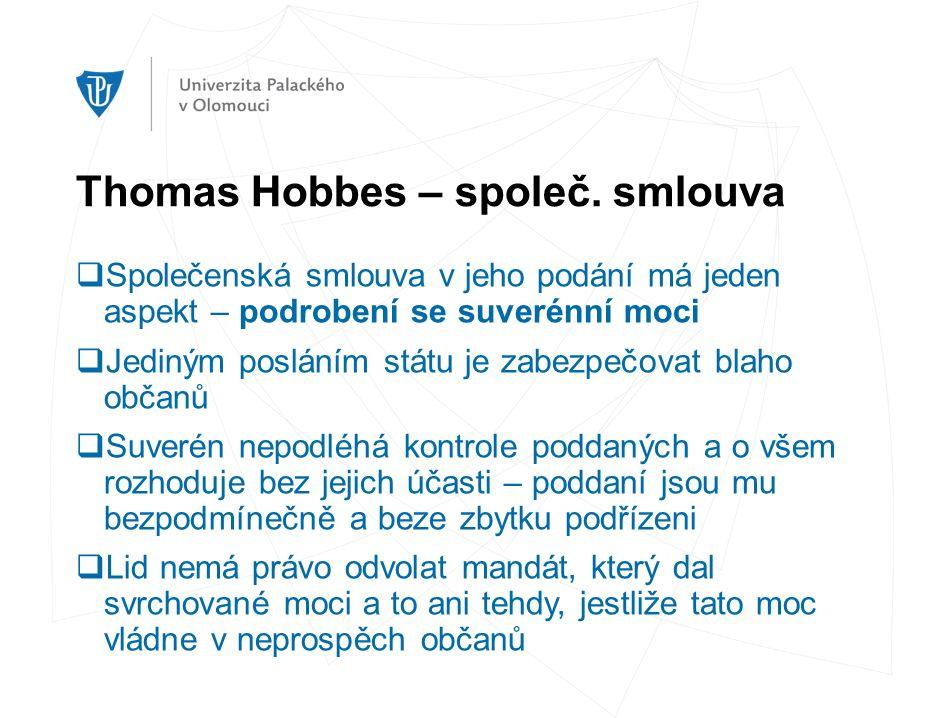 Thomas Hobbes – společ.