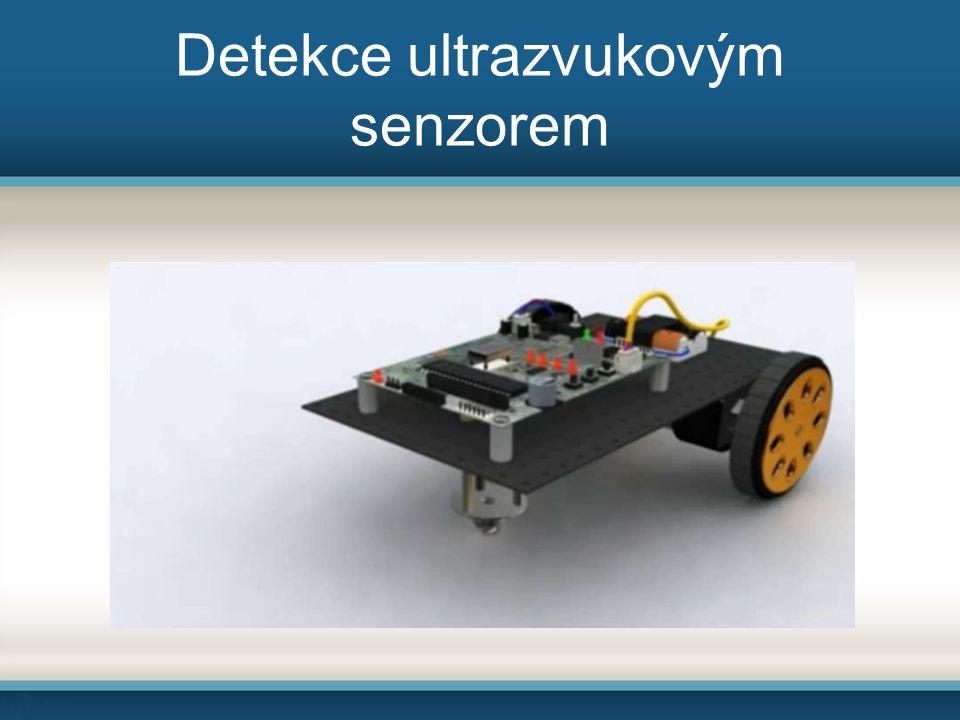 Detekce ultrazvukovým senzorem