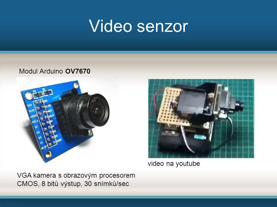 Video senzor video na youtube VGA kamera s obrazovým procesorem CMOS, 8 bitů výstup, 30 snímků/sec Modul Arduino OV7670