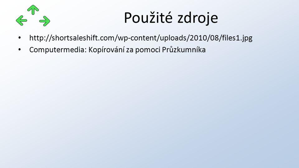 http://shortsaleshift.com/wp-content/uploads/2010/08/files1.jpg Computermedia: Kopírování za pomoci Průzkumníka Použité zdroje
