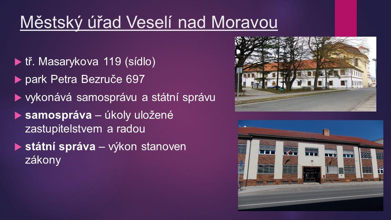 Městský úřad Veselí nad Moravou  tř.