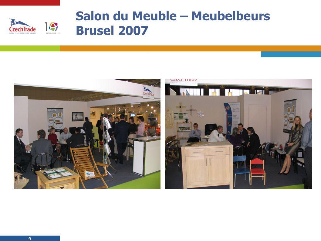 9 9 Salon du Meuble – Meubelbeurs Brusel 2007