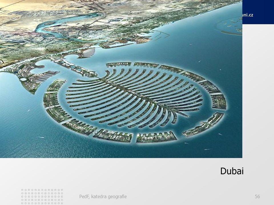 Dubai PedF, katedra geografie56